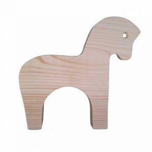 Cal din lemn