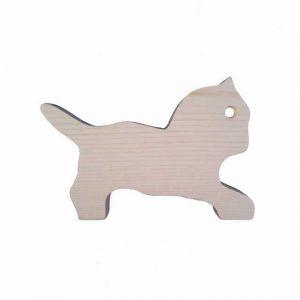 Pisică din lemn