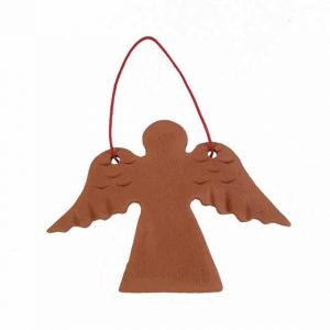 Înger din ceramică