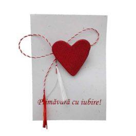 Mărţişor Inimă iubitoare
