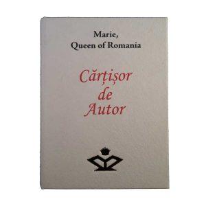 Cărțișor de Autor – Maria, Regina României (ediţie limitată - engleză)