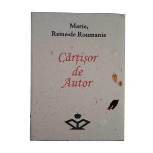 Cărțișor de Autor – Maria, Regina României (în formă de carte - franceză)